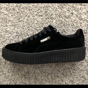 ... PUMA Fenty Velvet Creeper Sneaker- Lightly Worn ... 3eb72363b